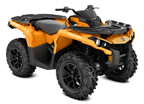 2018 Can-Am Outlander DPS 650 in Wilmington, North Carolina