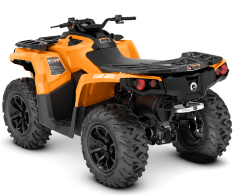 2018 Can-Am Outlander DPS 650 in Garberville, California