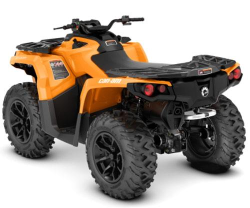 2018 Can-Am Outlander DPS 650 in Jones, Oklahoma