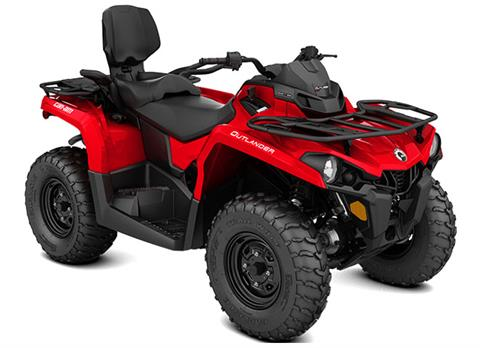 2018 Can-Am Outlander MAX 450 in Barre, Massachusetts