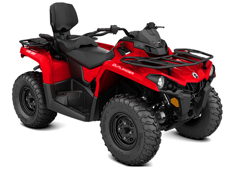 2018 Can-Am Outlander MAX 570 in Baldwin, Michigan