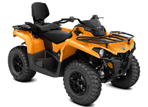 2018 Can-Am Outlander MAX DPS 450 in Baldwin, Michigan