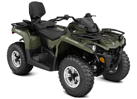 2018 Can-Am Outlander MAX DPS 570 in Hollister, California