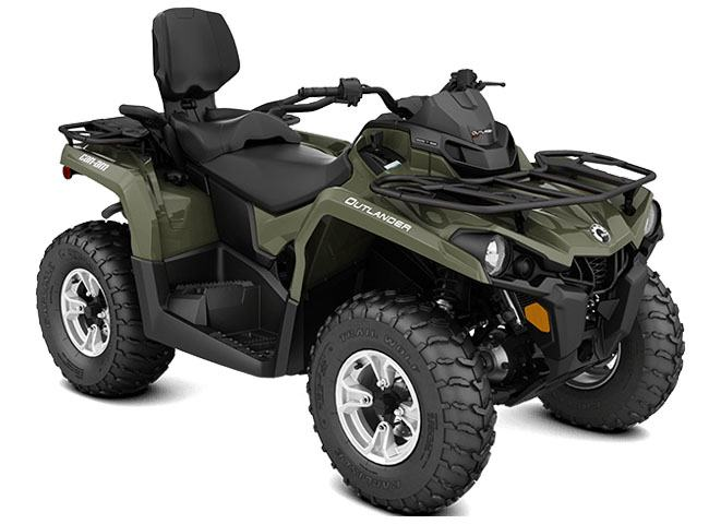 2018 Can-Am Outlander MAX DPS 570 in Wilmington, Illinois