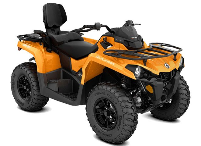 2018 Can-Am Outlander MAX DPS 570 in Panama City, Florida