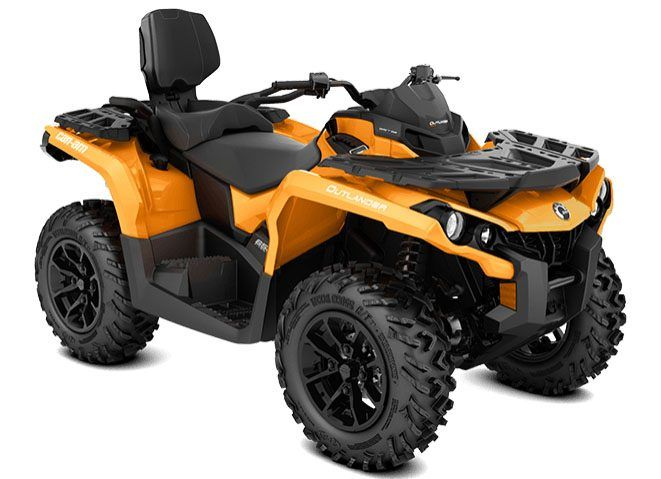 2018 Can-Am Outlander MAX DPS 650 in Woodinville, Washington