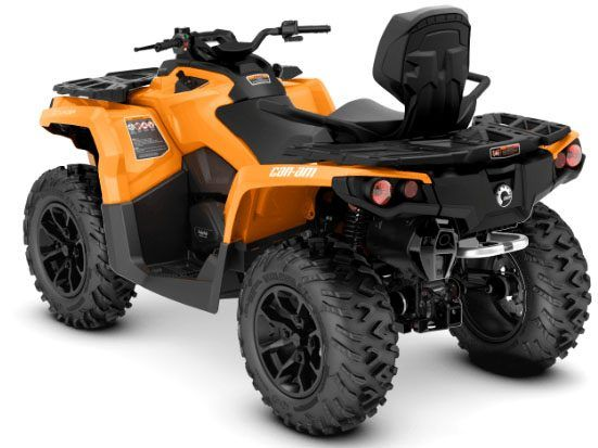 2018 Can-Am Outlander MAX DPS 650 in Hillman, Michigan