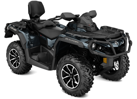 2018 Can-Am Outlander MAX Limited in Grimes, Iowa