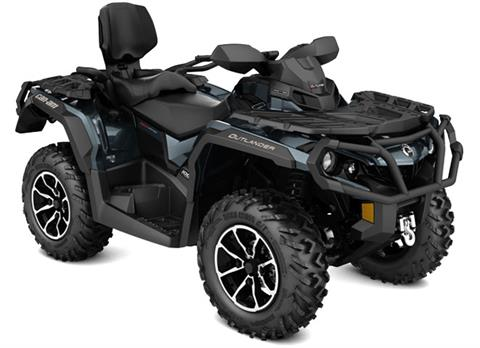 2018 Can-Am Outlander MAX Limited 1000R in Barre, Massachusetts