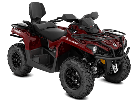 2018 Can-Am Outlander MAX XT 570 in Lancaster, New Hampshire