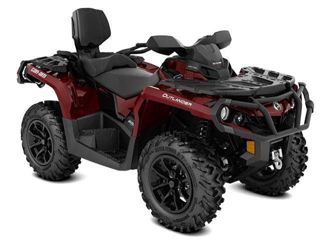 2018 Can-Am Outlander MAX XT 570 in Barre, Massachusetts
