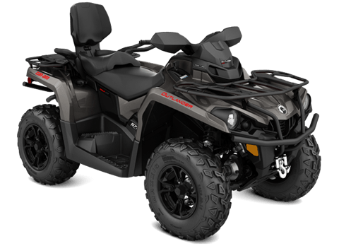 2018 Can-Am Outlander MAX XT 570 in Hollister, California