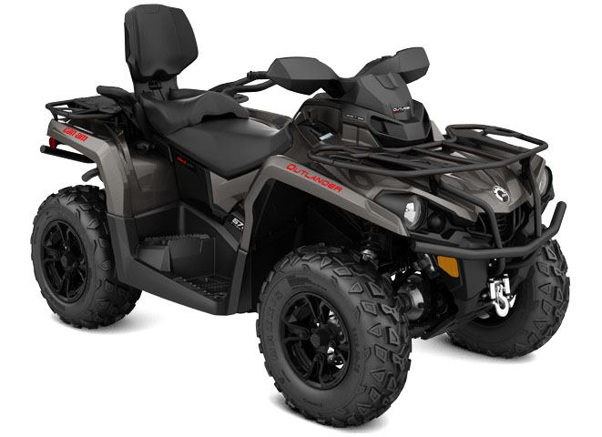 2018 Can-Am Outlander MAX XT 570 in Wilmington, Illinois