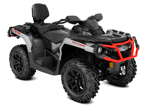 2018 Can-Am Outlander MAX XT 650 in Garberville, California