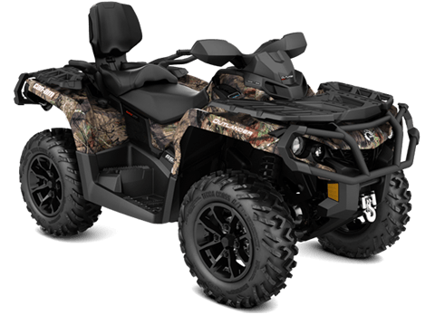 2018 Can-Am Outlander MAX XT 650 in Hollister, California
