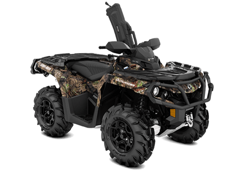2018 Can-Am Outlander Mossy Oak Hunting Edition 1000R in Adams, Massachusetts