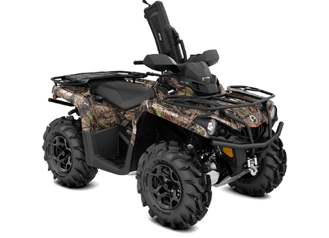 2018 Can-Am Outlander Mossy Oak Hunting Edition 450 in Garberville, California