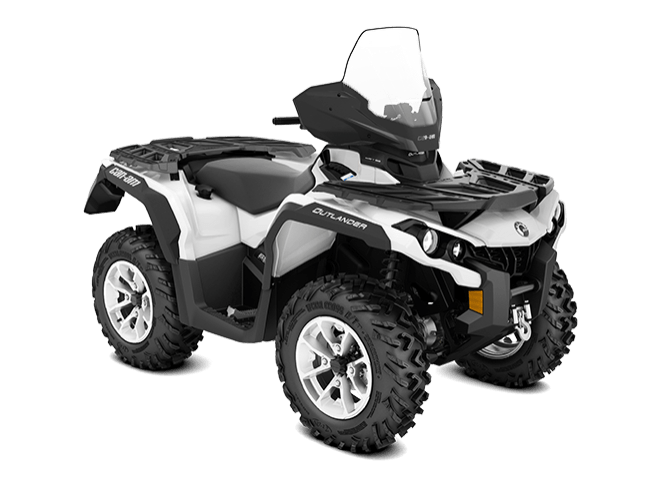 2018 Can-Am Outlander North Edition 650 in Hollister, California