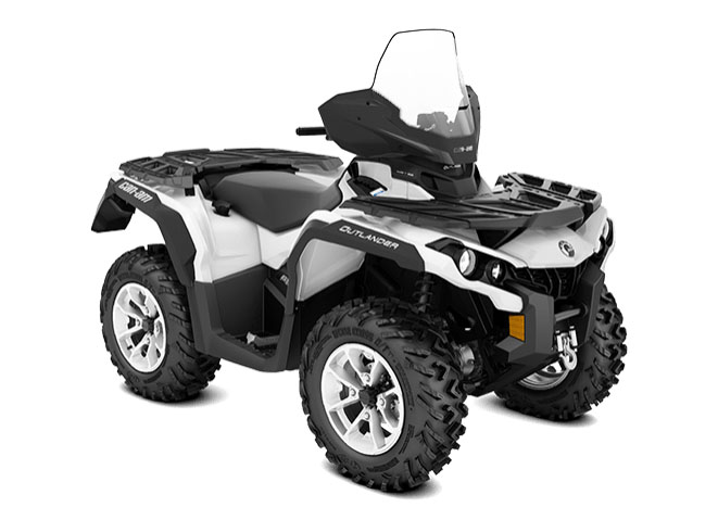 2018 Can-Am Outlander North Edition 850 in Baldwin, Michigan