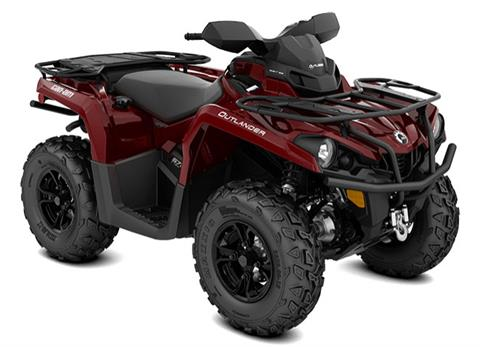 2018 Can-Am Outlander XT 570 in Barre, Massachusetts
