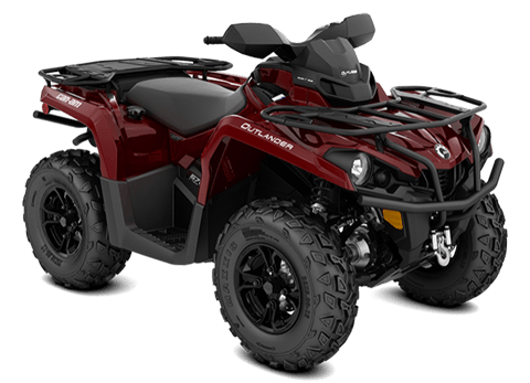 2018 Can-Am Outlander XT 570 in Adams, Massachusetts