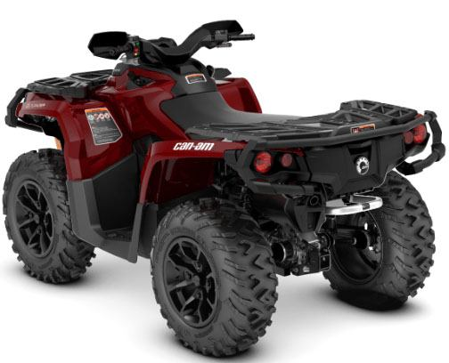 2018 Can-Am Outlander XT 650 in Enfield, Connecticut