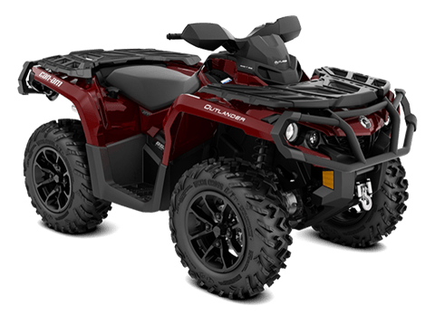 2018 Can-Am Outlander XT 850 in Gridley, California