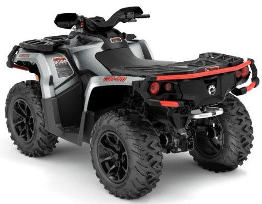 2018 Can-Am Outlander XT 850 in Cochranville, Pennsylvania