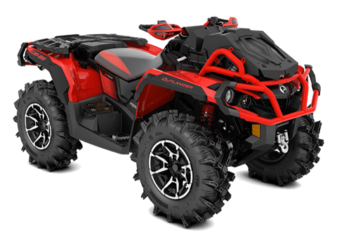 2018 Can-Am Outlander X mr 1000R in Lancaster, New Hampshire