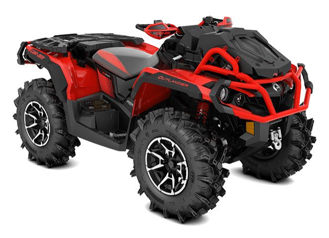 2018 Can-Am Outlander X mr 1000R in Garberville, California