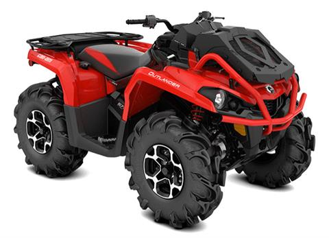 2018 Can-Am Outlander X mr 650 in Barre, Massachusetts