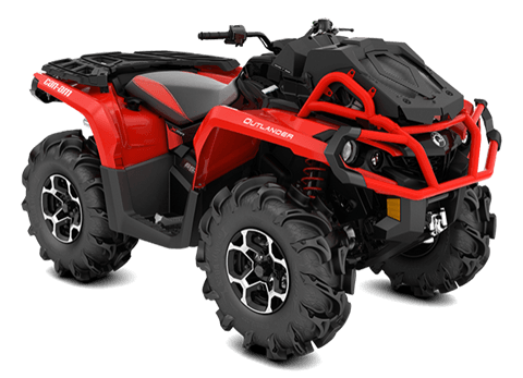 2018 Can-Am Outlander X mr 650 in Castaic, California