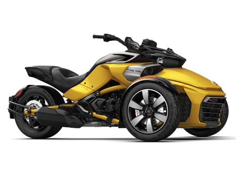 2018 Can-Am Spyder F3-S SE6 in Waterbury, Connecticut