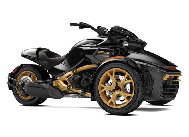 2018 Can-Am Spyder F3-S SE6 10th Anniversary in Hollister, California