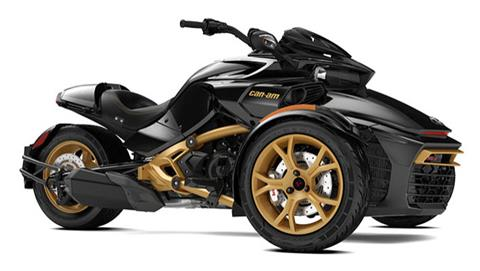 2018 Can-Am Spyder F3-S SE6 10th Anniversary in Augusta, Maine