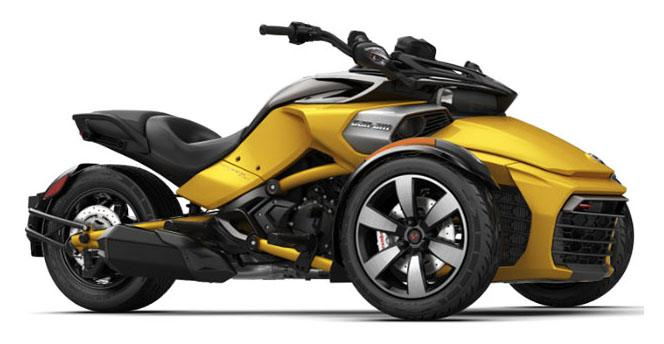 2018 Can-Am Spyder F3-S SM6 in Enfield, Connecticut