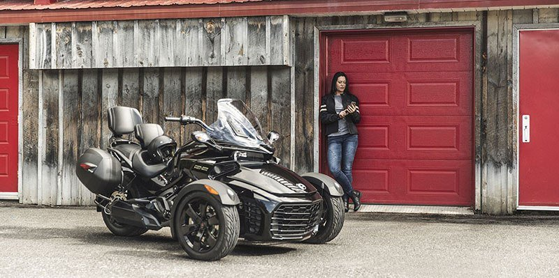 2018 Can-Am Spyder F3 in Woodinville, Washington