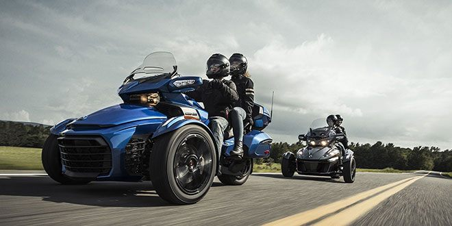 2018 Can-Am Spyder F3 Limited in Savannah, Georgia