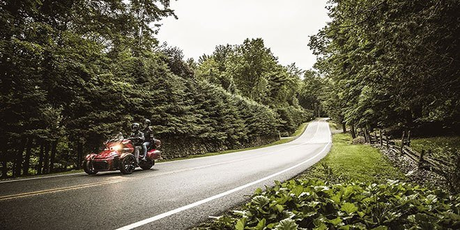 2018 Can-Am Spyder F3 Limited in Zulu, Indiana
