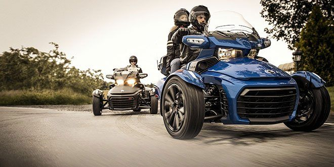2018 Can-Am Spyder F3 Limited in Canton, Ohio