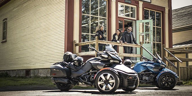 2018 Can-Am Spyder F3 Limited in Panama City, Florida
