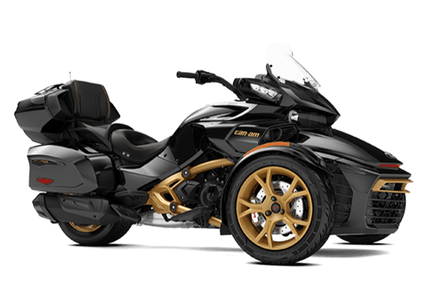 2018 Can-Am Spyder F3 Limited SE6 10th Anniversary in Lancaster, New Hampshire