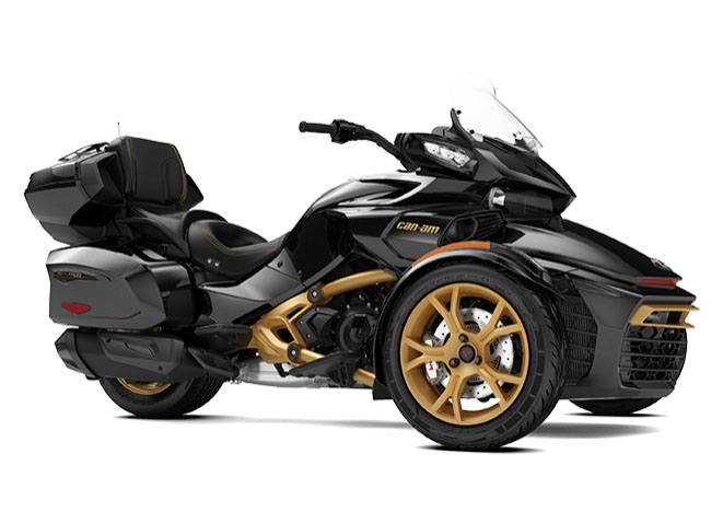 2018 Can-Am Spyder F3 Limited SE6 10th Anniversary in Derby, Vermont