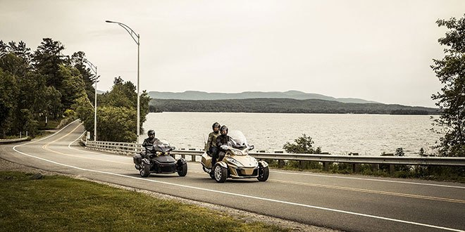 2018 Can-Am Spyder RT Limited in Frontenac, Kansas