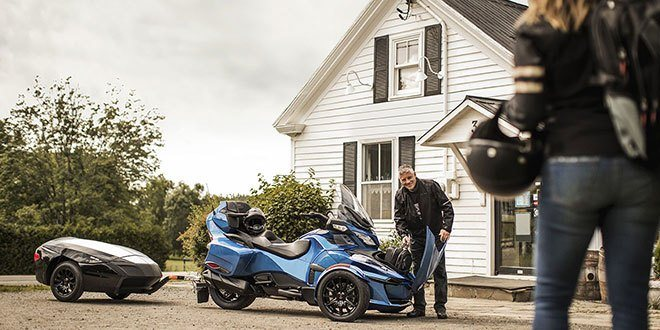 2018 Can-Am Spyder RT Limited in Lumberton, North Carolina