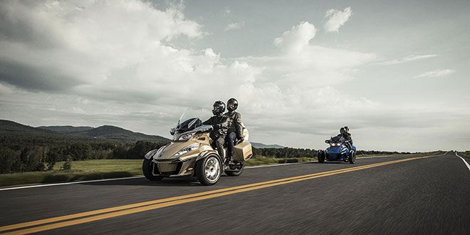 2018 Can-Am Spyder RT Limited in Derby, Vermont - Photo 8