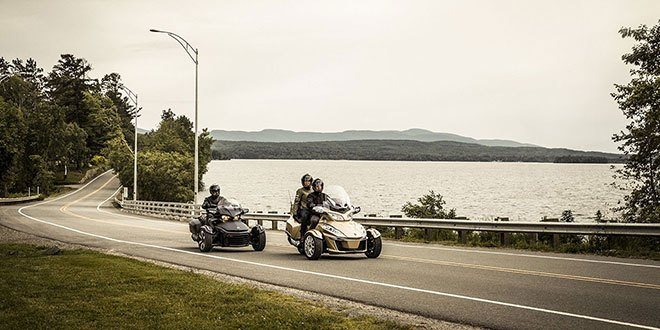 2018 Can-Am Spyder RT Limited in Lancaster, New Hampshire