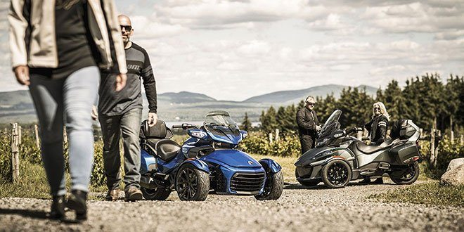 2018 Can-Am Spyder RT Limited in Waterbury, Connecticut