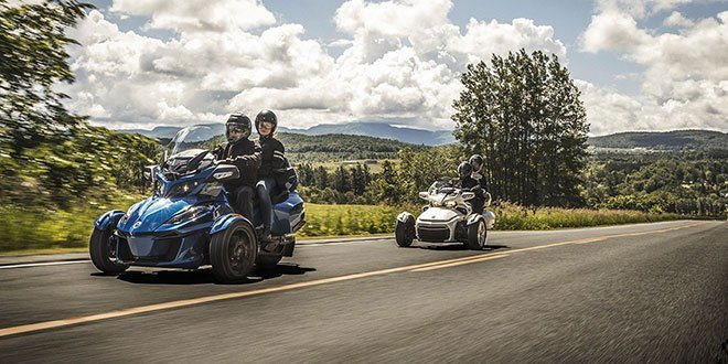 2018 Can-Am Spyder RT Limited in Bennington, Vermont
