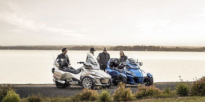 2018 Can-Am Spyder RT Limited in Mineola, New York - Photo 7